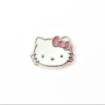 Hello Kitty Floating Charm for Memory Lockets