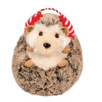 Spunky Hedgehog with Ear Muffs