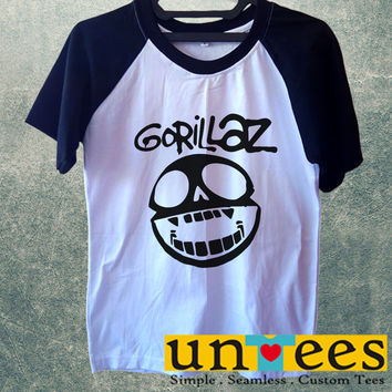 Gorillaz Logo Short Raglan Sleeves T-shirt