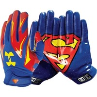 Under Armour Adult Alter Ego Superman F4 Receiver Gloves