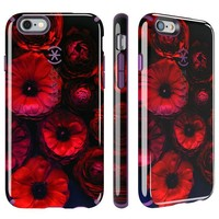Speck Products CandyShell Inked Case for iPhone 6/6S - Moody Bloom Pattern/ Acai Purple