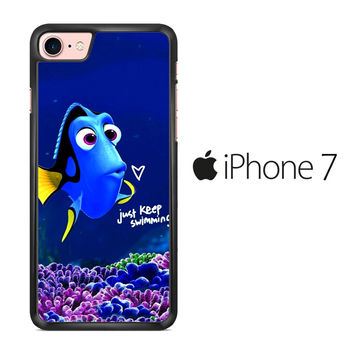 Just Keep Swimming Dory iPhone 7 Case