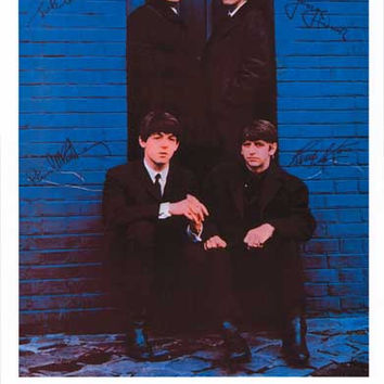Beatles London Palladium 1963 Poster 11x17
