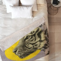 Garima Dhawan Wild 4 Fleece Throw Blanket
