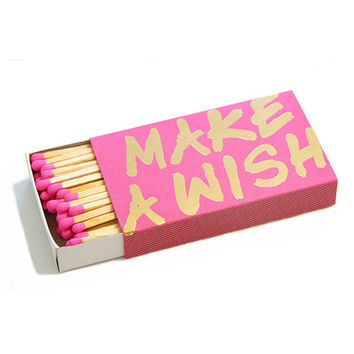 Make A Wish Extra Large Matchboxes | Waiting On Martha