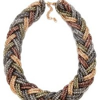 Bop Bijoux Braided Weave Necklace | SHOPBOP Save 20% with Code WEAREFAMILY13