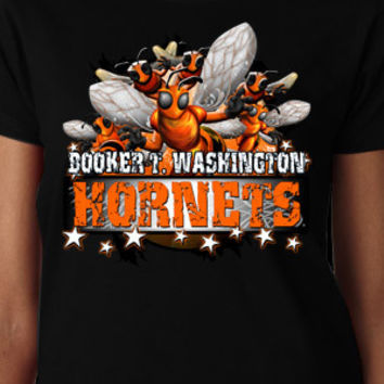 Booker T. Washington Hornets Stars T-Shirt