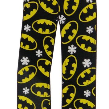 DC Comics Batman Winter Plush Womens Sleep or Lounge Pant
