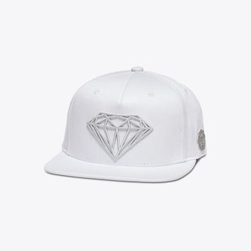 Diamond Supply Co. - Brilliant Snapback - White