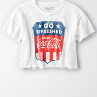 AE Coca Cola Graphic Tee, White