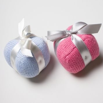 Organic Gift Rattle Baby Toys