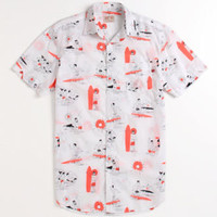 Lost Beatnik Beach Woven Shirt at PacSun.com
