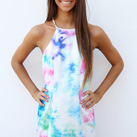 Bossy The Label - Poolclub Dress - Tied-Up Print