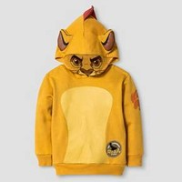 Toddler Boy's The Lion Guard Kion Costume Hoodie - Tan