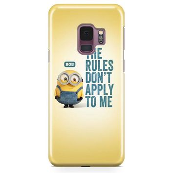 A Cute Collection Of Minions Samsung Galaxy S9 Plus Case | Casefantasy