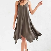 Ecote Strappy-Back Handkerchief Dress
