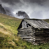 The Old Wooden Barn