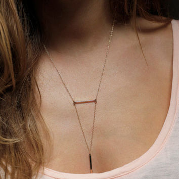 Gift New Arrival Jewelry Shiny Accessory Strong Character Stylish Simple Design Metal Necklace [7298071495]