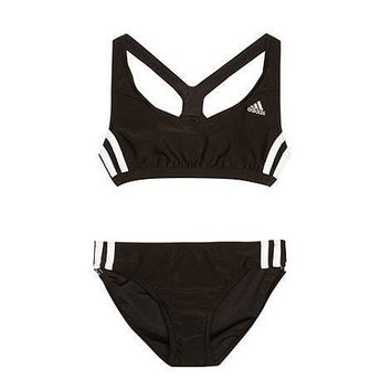 Adidas Fashion Sport Tank Top Bra Panty Shorts Underwear Set Bikini Swimwear Swimsuit