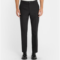 Dolce & Gabbana - Gold-Fit Textured Wool-Blend Trousers | MR PORTER