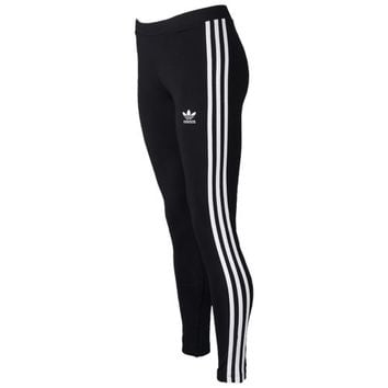 adidas Originals 3-Stripes Leggings - Women's at Lady Foot Locker