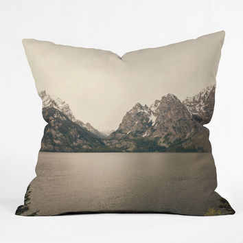 Catherine McDonald Cool Summer Snow Throw Pillow