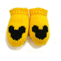 Sunny yellow baby socks, ankle socks, soft wool, choose size newborn, 3-6 month, 6-12 month, 1-1.5 year , choose heart color