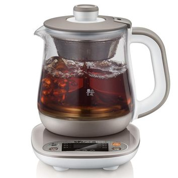 0.8L High Quality Electric Kettle Reservation Heat Preservation Electric Kettle Flower Teapot Hot Tea Makers Timing