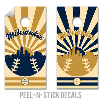 Milwaukee Brewers Decals
