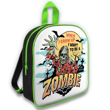 Six Bunnies When I Grow Up Zombie Kids Backpack