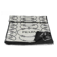 Perfect PRADA Woman Fashion Accessories Sunscreen Cape Scarf Scarves