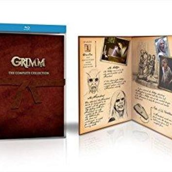 David Giuntoli & Russell Hornsby - Grimm: The Complete Collection