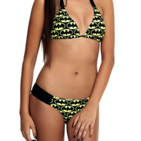 DC Comics Batman Reversible Swim Top