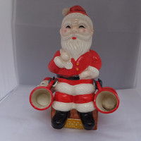 Rare Santa Claus Decanter Dan Brechner Xmas Cheer Christmas Collectible