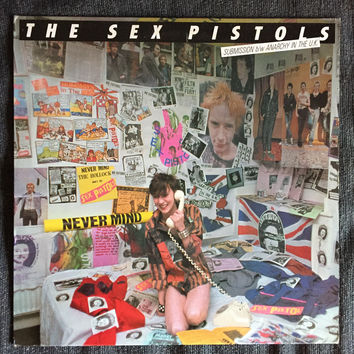 Sex Pistols - Submission b/w Anarchy In The UK (Used EP)