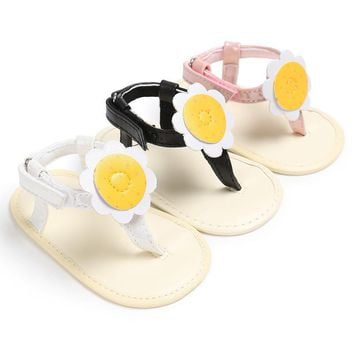 Baby Girl Flower Girls Flip Flops