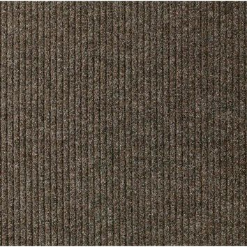 Multy Home MT1003851 Concord Utility Precut Carpeted Floor Runner, Tan, 2'x5'