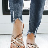Dreamcatcher Sandals - Metallic