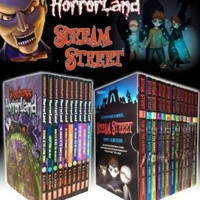 Goosebumps Horrorland Series & Scream Street 23 Books Box Gift Set Collection