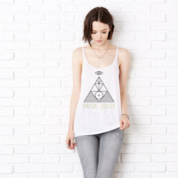 Spiritual Gangsta' Tank Top - Fashion Yoga Tank