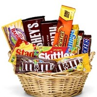 Everyone's Favorite Candy Basket at From You Flowers