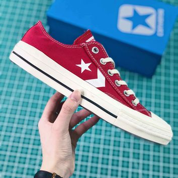 Converse Cx-pro Ox One Star Red Canvas Shoes - Best Online Sale