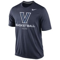 Villanova Wildcats Nike Basketball Practice Dri-FIT T-Shirt – Navy Blue