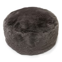 Nordstrom at Home Cuddle Up Faux Fur Drum Pouf | Nordstrom