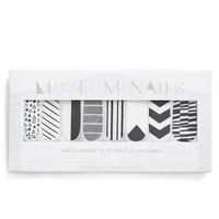 ModCloth Minimal And Mani More Nail Sticker Set in Monochrome