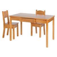 LITTLE COLORADO Arts & Crafts Table & Chair Set - Brown