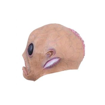 Scary Silicone Face Mask Big Eye Alien Extra Terre