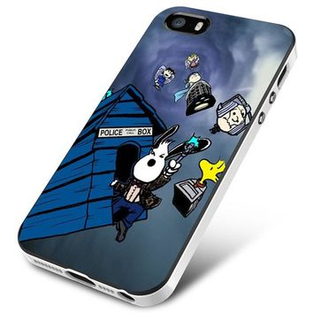 Snoopy Tardis Dr Who iPhone 5 | 5S | 5SE Case Planetscase.com
