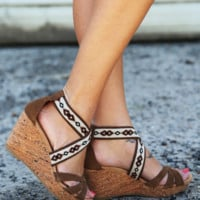 'Drew' Wedges By {Minnetonka}