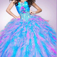 New Stock Quinceanera Dresses Prom Bridal Ball Gown US SIZE 2+4+6+8+10+12+14+16
